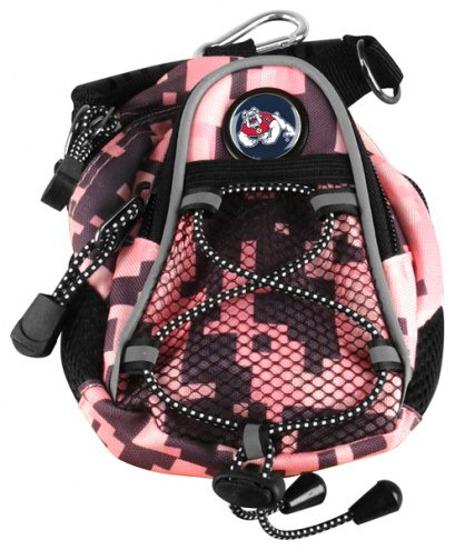 Fresno State Bulldogs Pink Digi Camo Mini Day Pack
