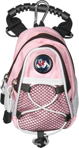Fresno State Bulldogs Pink Mini Day Pack