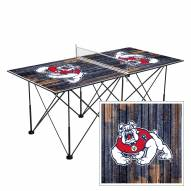 Fresno State Bulldogs Pop Up 6' Ping Pong Table