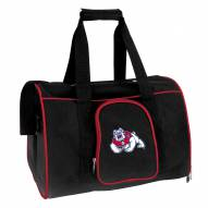 Fresno State Bulldogs Premium Pet Carrier Bag