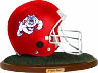 Fresno State Bulldogs Collectible Football Helmet Figurine