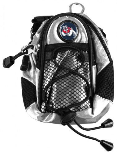 Fresno State Bulldogs Silver Mini Day Pack