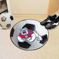 Fresno State Bulldogs Soccer Ball Mat