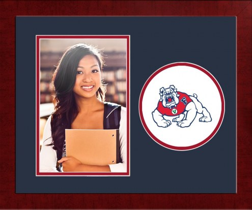 Fresno State Bulldogs Spirit Vertical Photo Frame