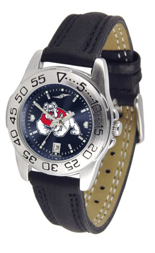 Fresno State Bulldogs Sport AnoChrome Women's Watch