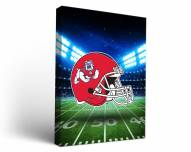 Fresno State Bulldogs Stadium Canvas Wall Art