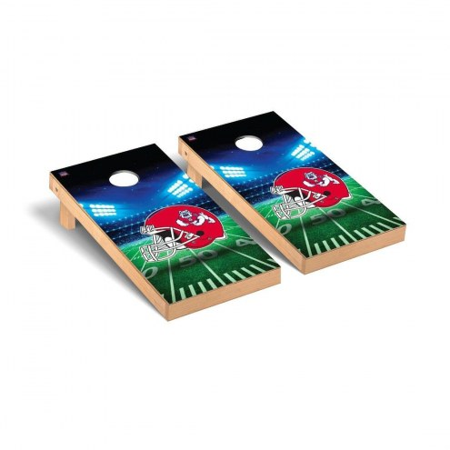 Fresno State Bulldogs Stadium Cornhole Game Set