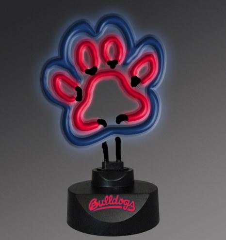Fresno State Bulldogs Team Logo Neon Lamp