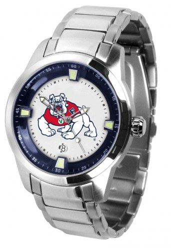 Fresno State Bulldogs Titan Steel Men's Watch