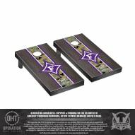 Furman Paladins Operation Hat Trick Stained Cornhole Game Set