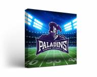 Furman Paladins Stadium Canvas Wall Art