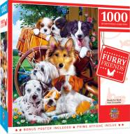 Furry Friends Ready for Work 1000 Piece Puzzle