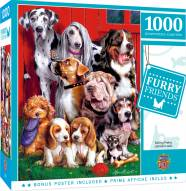 Furry Friends Sitting Pretty 1000 Piece Puzzle