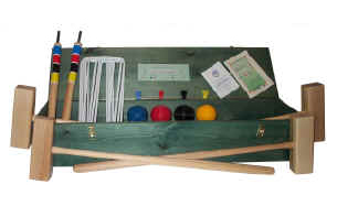 Oakley Woods Garden 6-Player Croquet Set