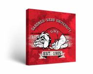 Gardner-Webb Bulldogs Banner Canvas Wall Art