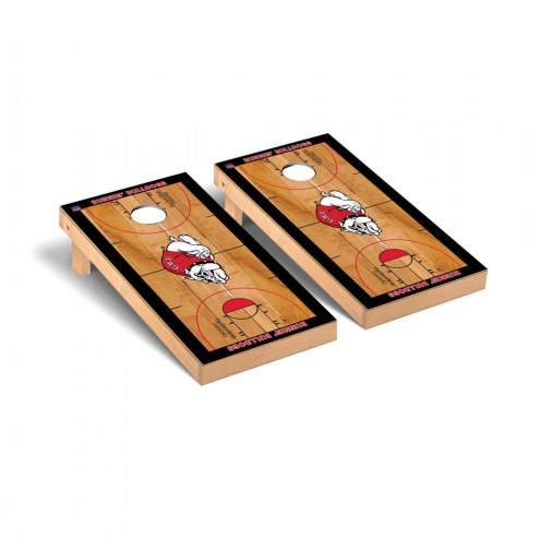 Gardner-Webb Bulldogs Basketball Court Cornhole Game Set