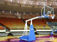 Gared Hoopmaster 8 Collegiate Portable Basketball System