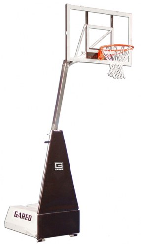 Gared Micro-Z Roll-Around Basketball Backstop System