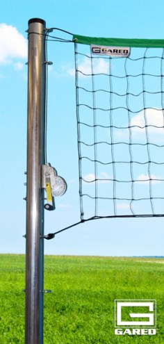 "Gared Outdoor Volleyball Standards - 3 1/2"""