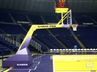 "Gared Pro H Hydraulic Portable Basketball System with 10' 8"" Boom"
