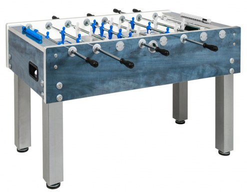 Garlando G-500 Deep Blue Weatherproof Outdoor Foosball Table