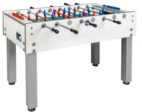 Garlando G-500 White Weatherproof Outdoor Foosball Table