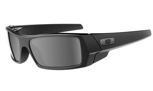 Oakley Gascan Sunglasses - Matte Black / Grey