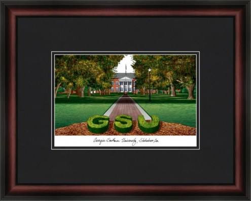 Georgia Southern University Academic Framed Lithograph