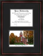 Georgia Institute of Technology Diplomate Framed Lithograph with Diploma Opening