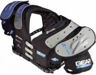 Gear Pro-Tec Z-Cool Pro Select Adult Football Shoulder Pads - QB / WR / DB