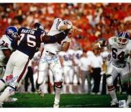 George Martin SB XXI Hit on Elway Horizontal 16 x 20 Photo