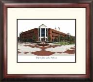 George Mason Patriots Alumnus Framed Lithograph