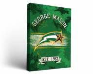 George Mason Patriots Banner Canvas Wall Art