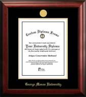 George Mason Patriots Gold Embossed Diploma Frame
