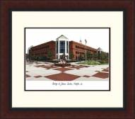 George Mason Patriots Legacy Alumnus Framed Lithograph