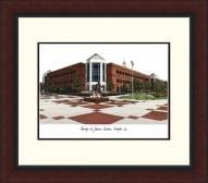 George Mason Patriots Legacy Alumnus Framed Lithograph