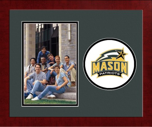 George Mason Patriots Spirit Vertical Photo Frame