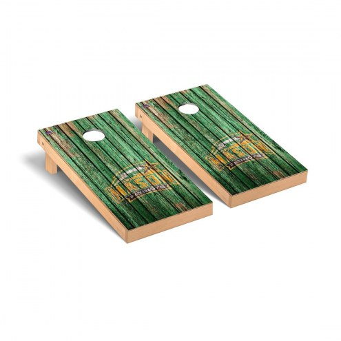 George Mason Patriots Weathered Cornhole Game Set