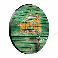 George Mason Patriots Weathered Design Hook & Ring Game