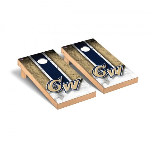 George Washington Colonials Mini Cornhole Set