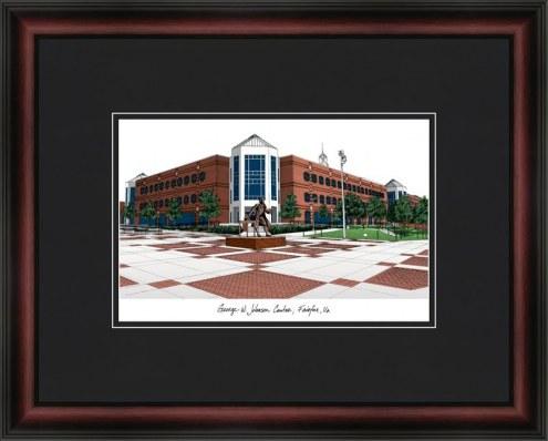 George Mason University Academic Framed Lithograph