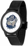 Georgetown Hoyas Black Mesh Statement Watch