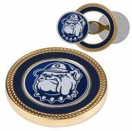 Georgetown Hoyas Challenge Coin with 2 Ball Markers