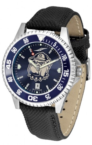 Georgetown Hoyas Competitor AnoChrome Men's Watch - Color Bezel