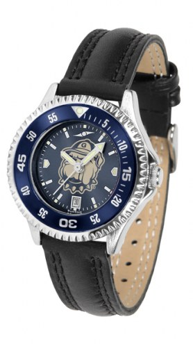 Georgetown Hoyas Competitor AnoChrome Women's Watch - Color Bezel