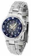Georgetown Hoyas Competitor Steel AnoChrome Women's Watch - Color Bezel
