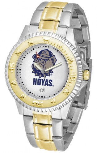 Georgetown Hoyas Competitor Two-Tone Men's Watch