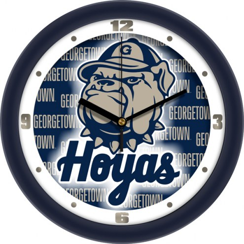 Georgetown Hoyas Dimension Wall Clock