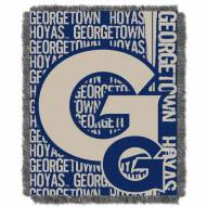 Georgetown Hoyas Double Play Woven Throw Blanket