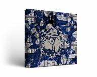 Georgetown Hoyas Fight Song Canvas Wall Art